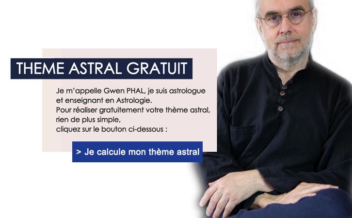 thème astral gratuit